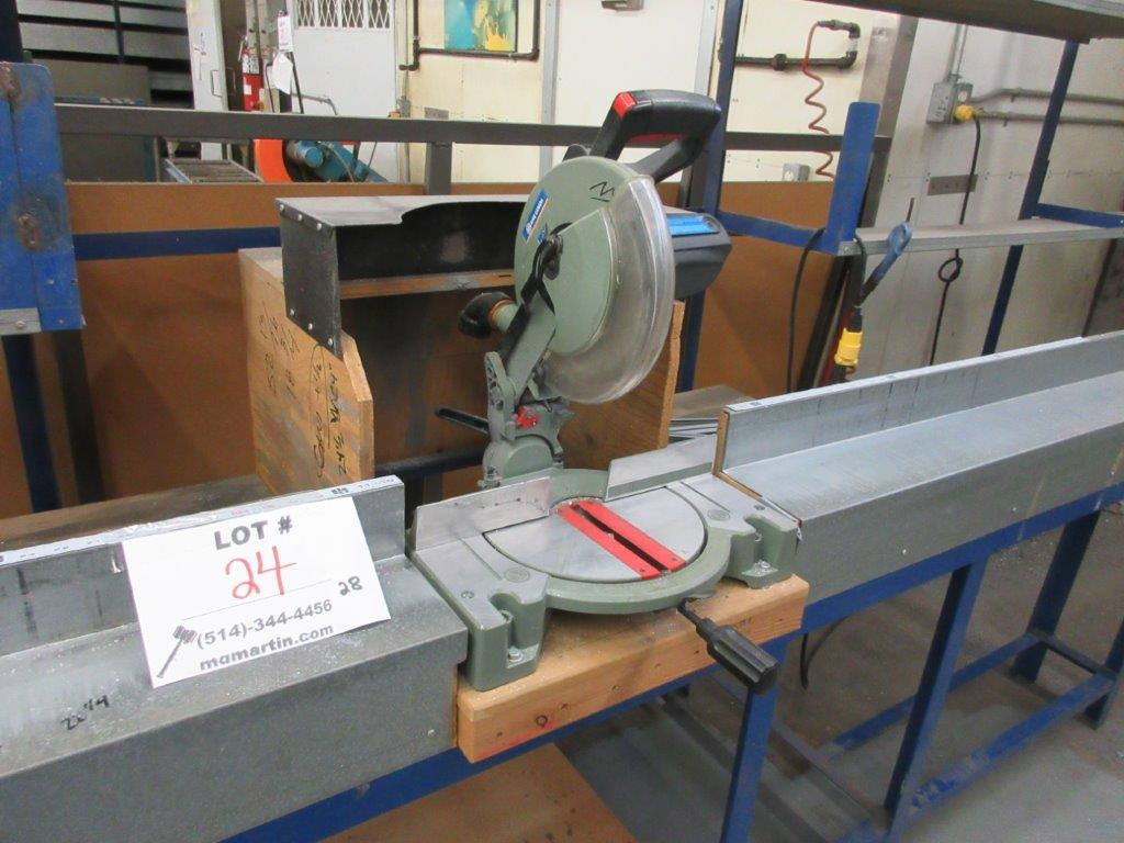 KING Compound Miter saw w/t table & guide - Image 2 of 3