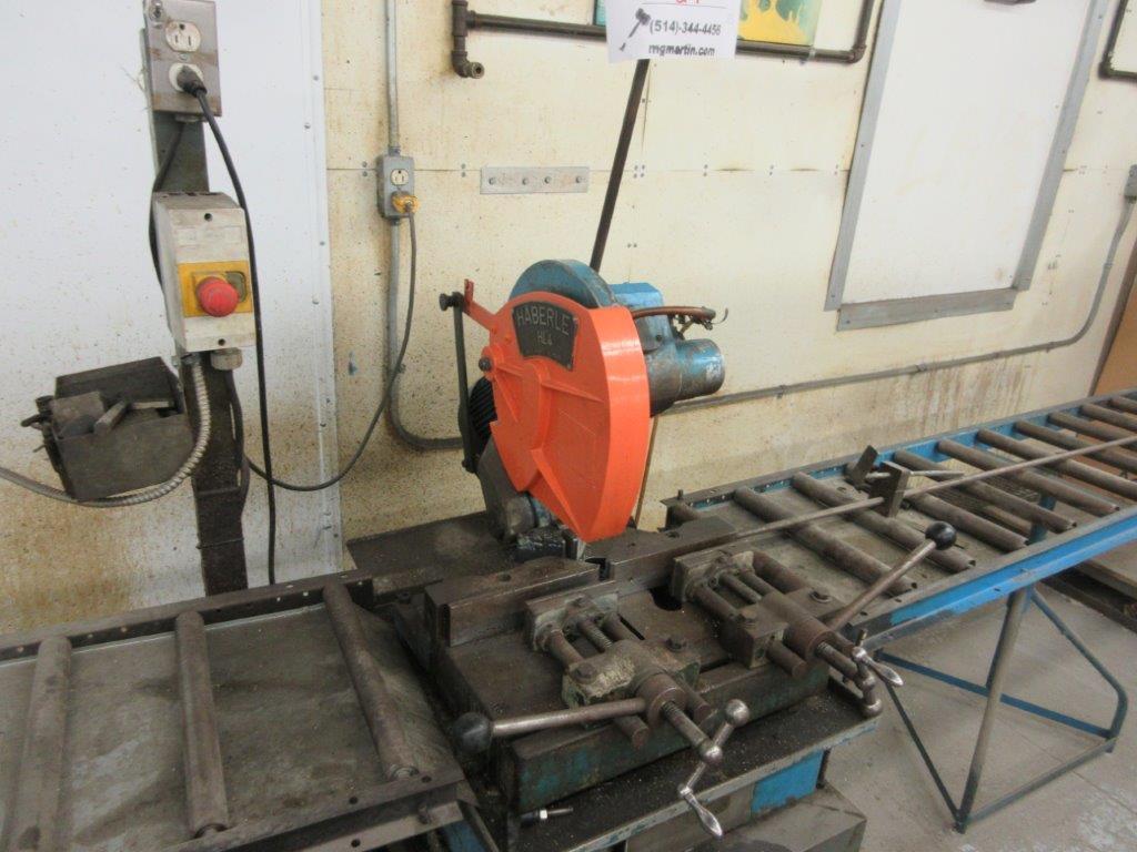 HABERLE Metal saw c/w conveyor - Image 2 of 3