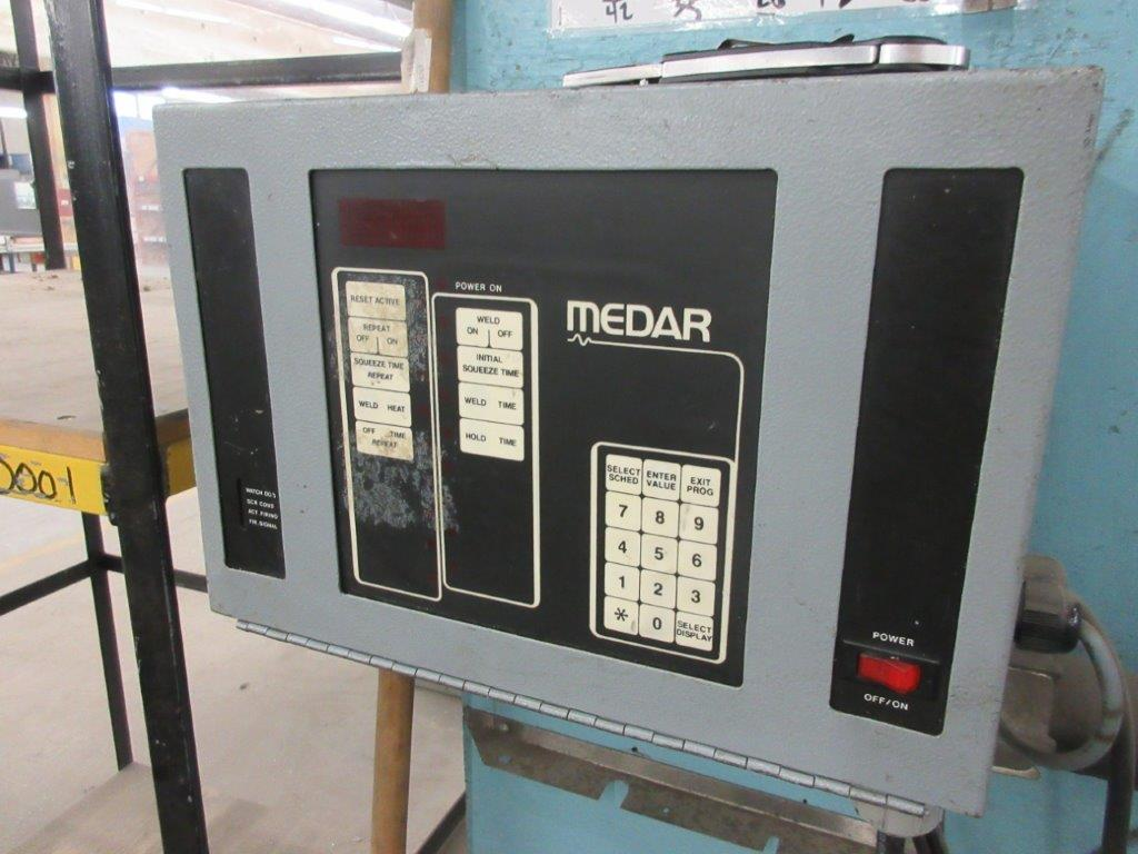 MCCARTHY soldering system 75 KVA, 550 V, w/t JET electric hoist 1/2 Ton - Image 4 of 6