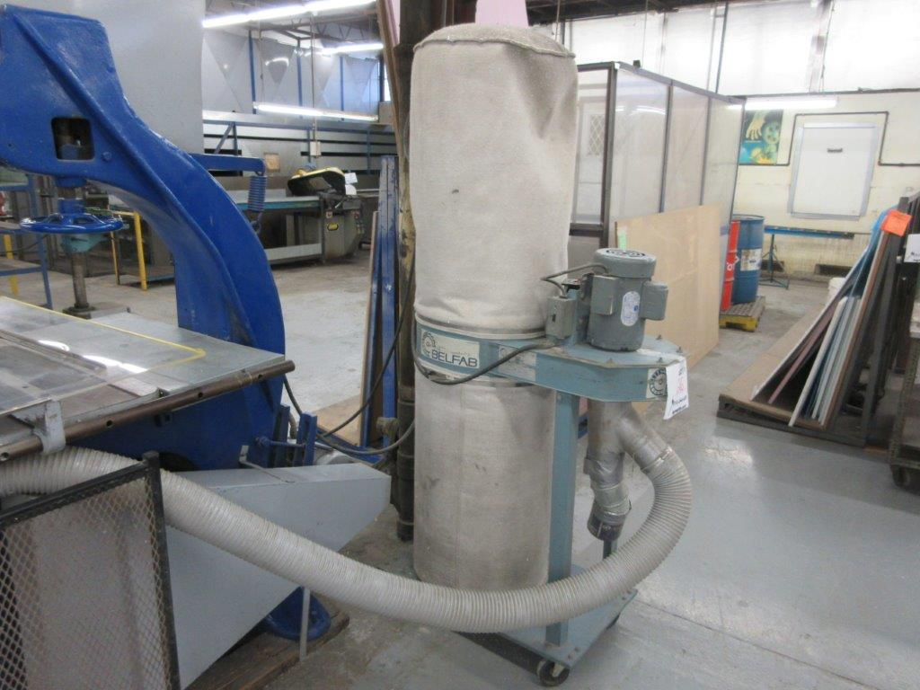 BELFAB Dust Collector 2hp, 220 volts - Image 2 of 2