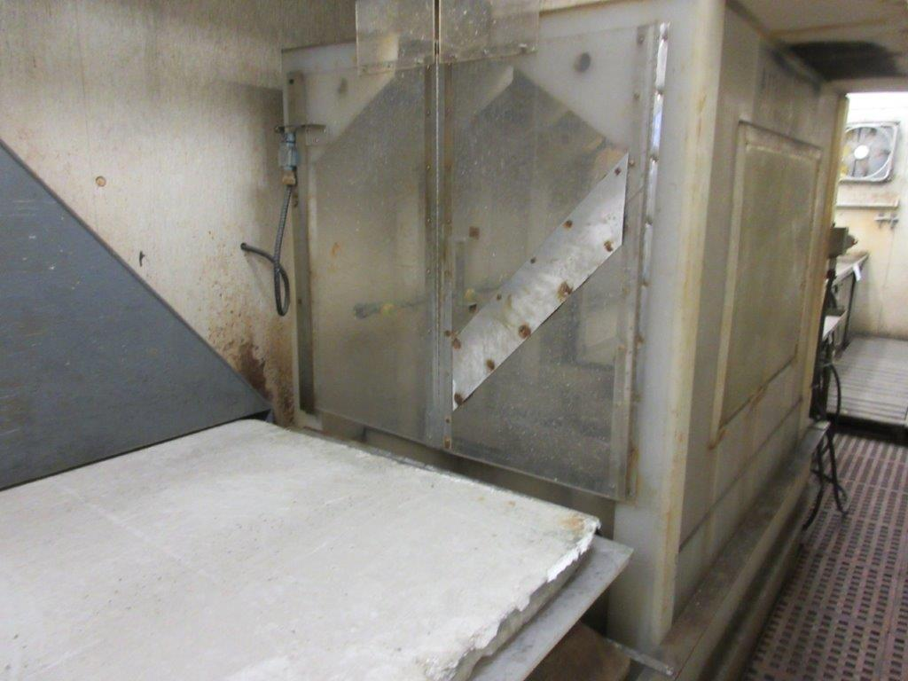 Acid washing chamber (8ft w x 33 ft l x 10 ft h approx), including electric hoist 1/2 Ton and 20 - Image 3 of 11