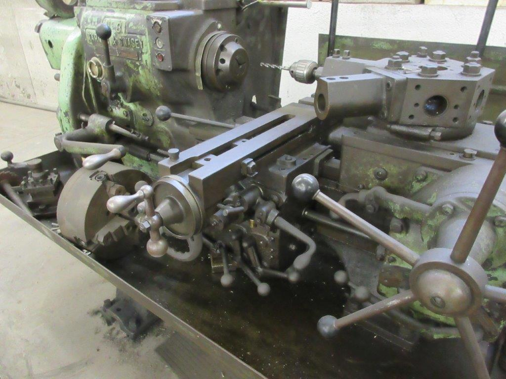WARNER & SWASEY No. 3 Turret lathe Mod: M1200 - Image 4 of 4