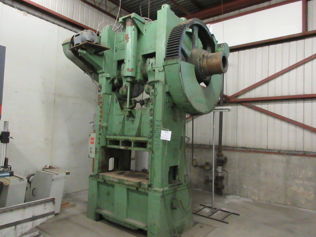 BLISS Mechanical press, 530 Ton - Image 2 of 4