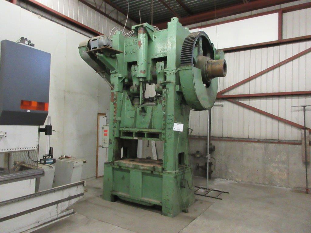 BLISS Mechanical press, 530 Ton