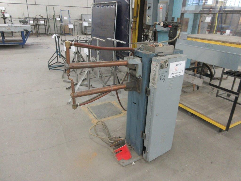 AH spot welder Mod: RATC 575 V, 30 KVA