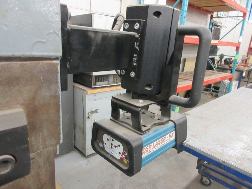 PROMECAM Press brake w/t DSP Laser-Rx Cap:150 Ton Imperial, 12ft, Mod RG 154, Laser, 6ft back guage, - Image 6 of 11