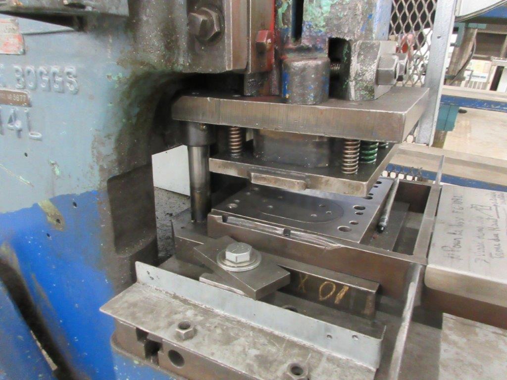 BROWN & BOGGS Punch press OBI, 14L, 14 Ton - Image 4 of 4