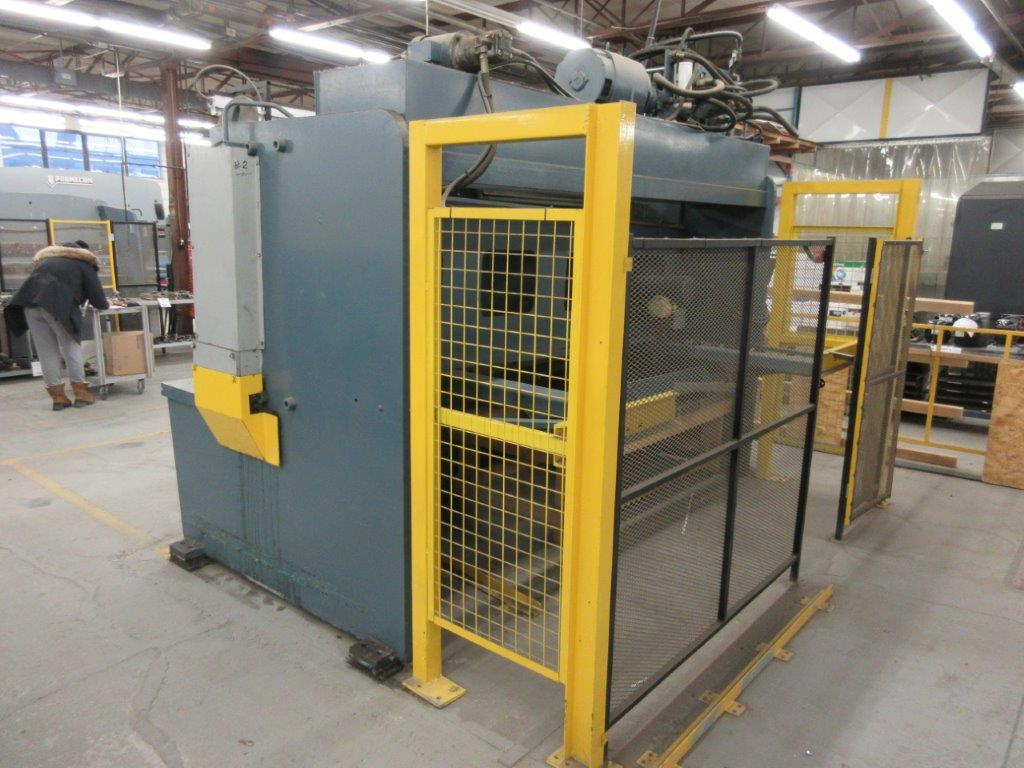 ALL STEEL Hydraulic shear 575 volts, 1099 Steel, Mod: 10G-10, 10ft, 8ft back guage, 10 guage, - Image 6 of 8