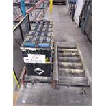 Forklift battery + conveyor
