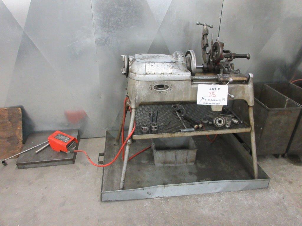 RIGID pipe threading machine Mod: 535