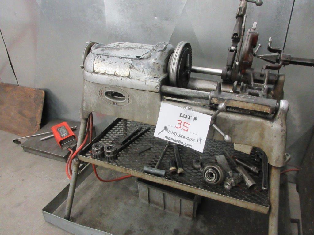 RIGID pipe threading machine Mod: 535 - Image 3 of 3