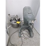 Hobart planetary mixer, mod. A200, ser. no. 1305910, 20 qtrs.., 1/3 hp, 110V c/w accessories