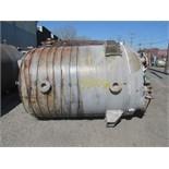 1000 Gal Enerfab Glass Lined Receiver Tank, 75#
