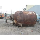 2000 Gal Pfaudler Glass Lined Reactor