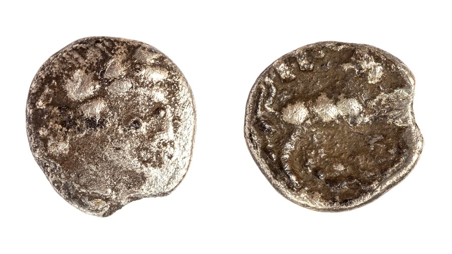 Lot 22 - An inscribed silver unit of the Southern Region/Atrebates and Regni, struck under Tincomarus (c.