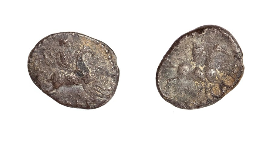 Lot 13 - An inscribed silver unit of the Southern Region/Atrebates and Regni, struck under Verica (AD 10-