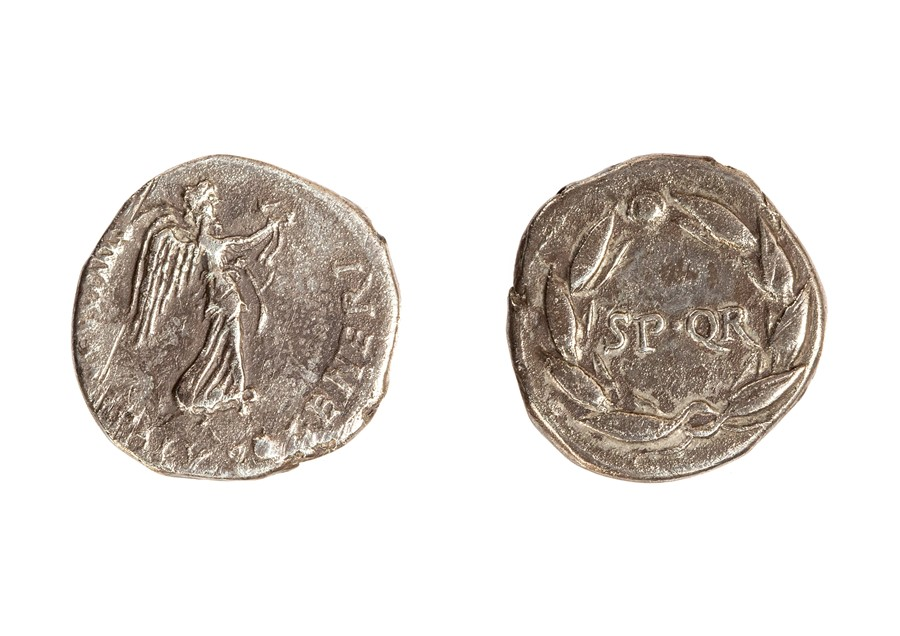 Lot 35 - A silver denarius struck for Vindex during the revolt in Gallia Ludugensis from March-May of AD 68.