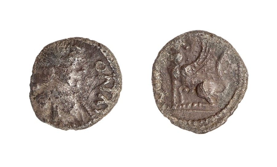 Lot 17 - An inscribed silver unit of the North Thames region/Trinovantes and Catavellaunii, struck under