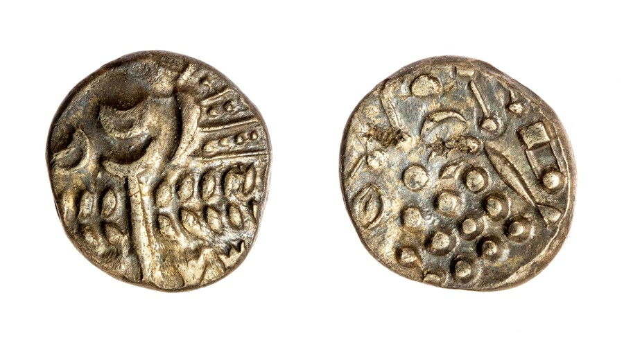 Lot 23 - An uninscribed silver* stater attributed to the Southwestern Region/Durotriges, dating c. 50-20