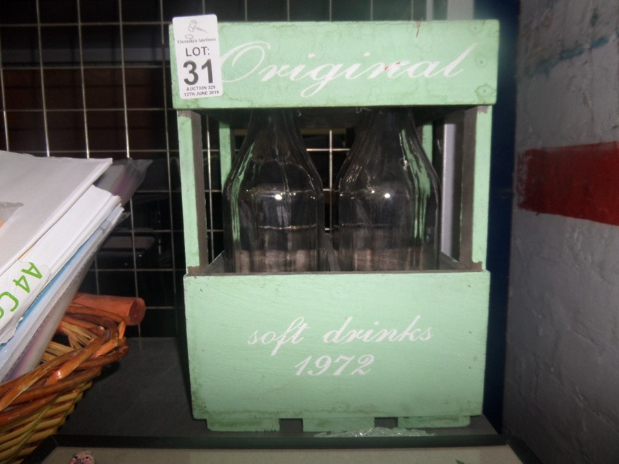 Lot 31 - CRATE OF BOTTLES