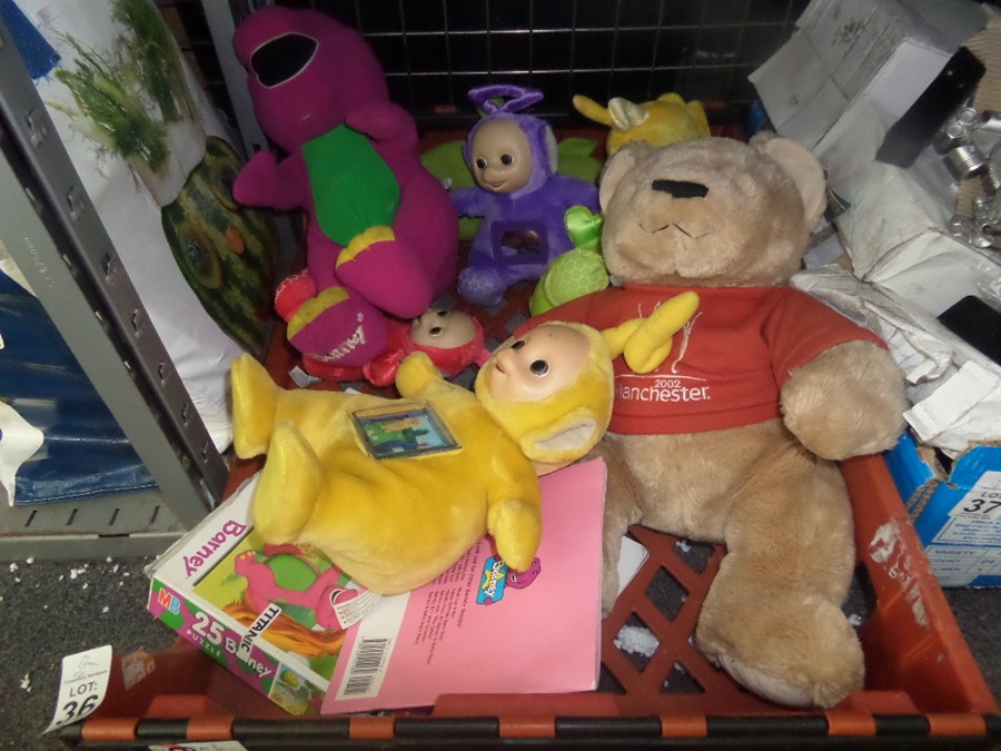 Lot 36 - CRATE OF TOYS
