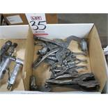 LOT - WELDING CLAMPS