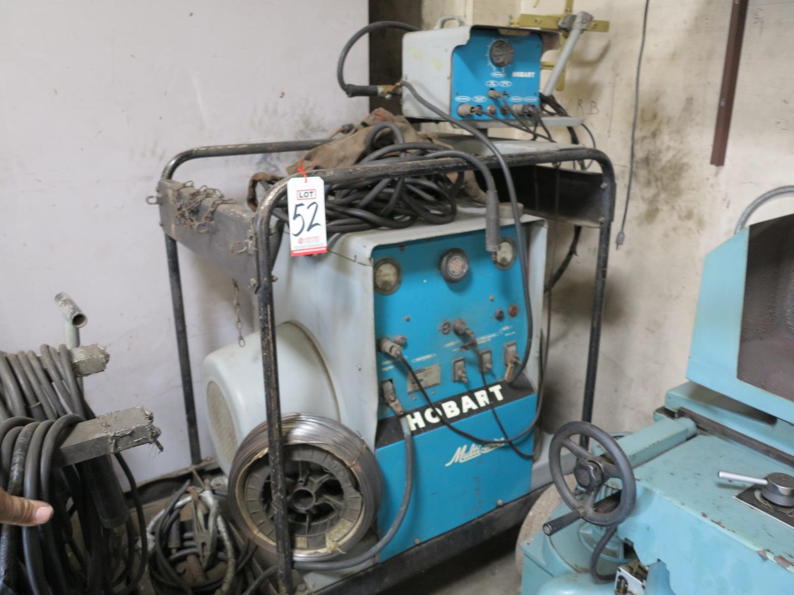 HOBART MULTI-WIRE WELDER, MODEL MC-500, 30 HP, 500 AMP, 3-PHASE, 220/440V, S/N 16DW-9672
