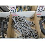 LOT - COMBINATION WRENCHES