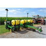 "John Deere 1780 6/11 x 15"" row splitter planter, 3 bu boxes, (3) 70 gal fertilizer tanks, 2x2"