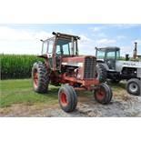 International Farmall 856 tractor, diesel, 18.4-38 rear, 10.00-16.5 SL front, fast hitch w/ 3 pt