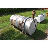 300 gallon fuel tank w/ manual pump