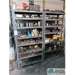 "SECTIONS 18"" X 36"" X 72"" HIGH ADJUSTABLE BOLT TOGETHER STEEL SHELVING AND CONTENTS"