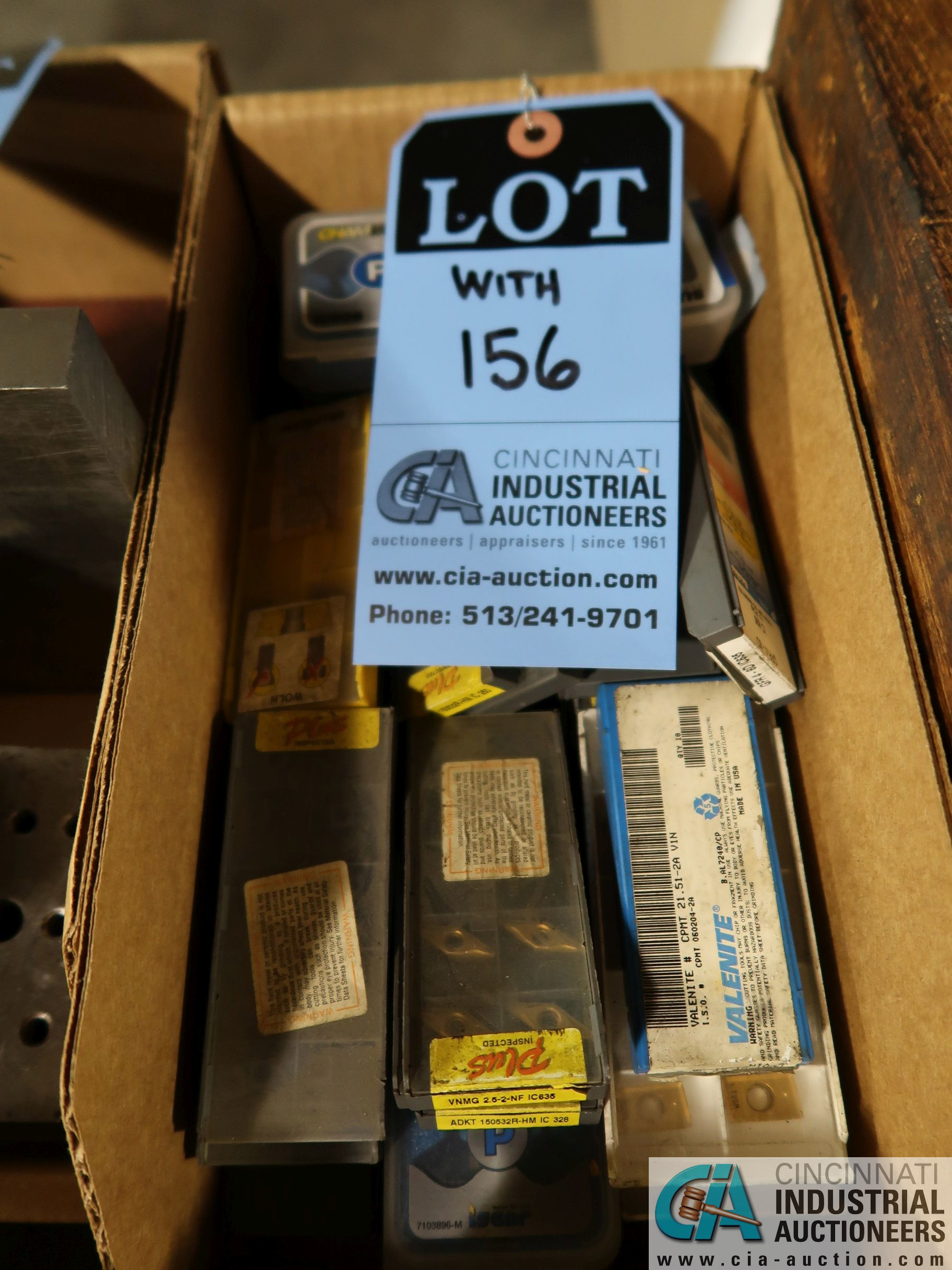 (LOT) CARBIDE INSERTS - Image 2 of 2