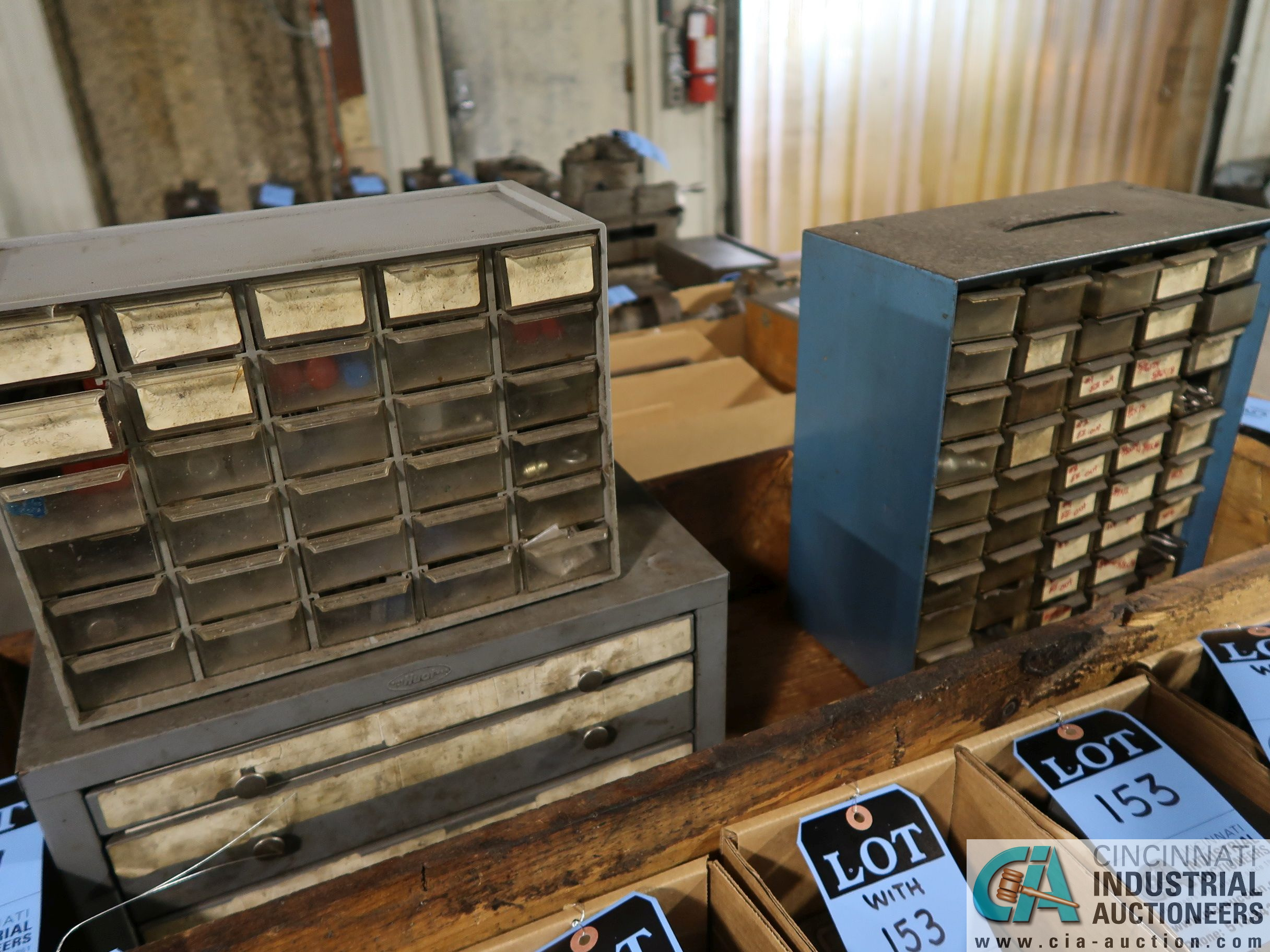 (LOT) MISC. DRILL CABINETS
