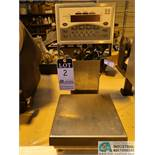 RICE LAKE MODEL CW-90 OVER / UNDER DIGITAL READ-OUT BENCH SCALE