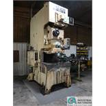 "176 TON STAMTEC MODEL G1-160H OPEN BACK GAP FRAME PRESS; S/N 0276, 3.543"" STROKE, 40-70 SPM, 19.8"""