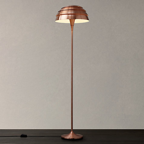 1 x boxed oslo copper floor lamp please note that the bid With oslo copper floor lamp