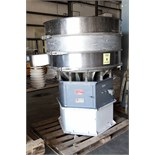 VIBRATORY SIFTER, SOUTHWESTERN WIRE CLOTH, Size 48, 48 dia., carbon steel base, carbon steel