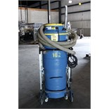 VACUUM/DUST COLLECTOR, GOODWAY MDL. DV-E3, new 2001, S/N 110901