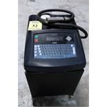 PROGRAMMABLE INK JET CODER, LINX MDL. 4800, S/N BJ201 On Carbon Steel cabinet