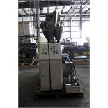 POWDER AUGER FILLER, MATEER BURT CO., 18-station, stainless steel, rotary dual head, stainless steel