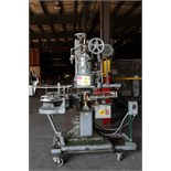 AUTOMATIC CAN SEAMER, CANCO MDL. 6, sgl. Head, atmospheric 40 CPM, currently set for 408 dia., on