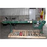 CONVEYOR, ARROWHEAD 10', carbon steel, 7.5 tabletop belting