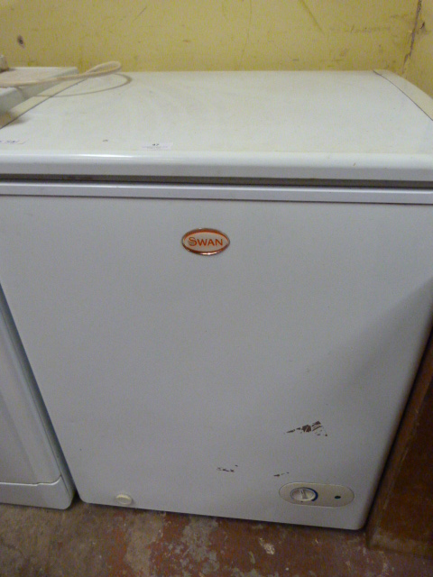 Lot 47 - Small Swan Chest Freezer