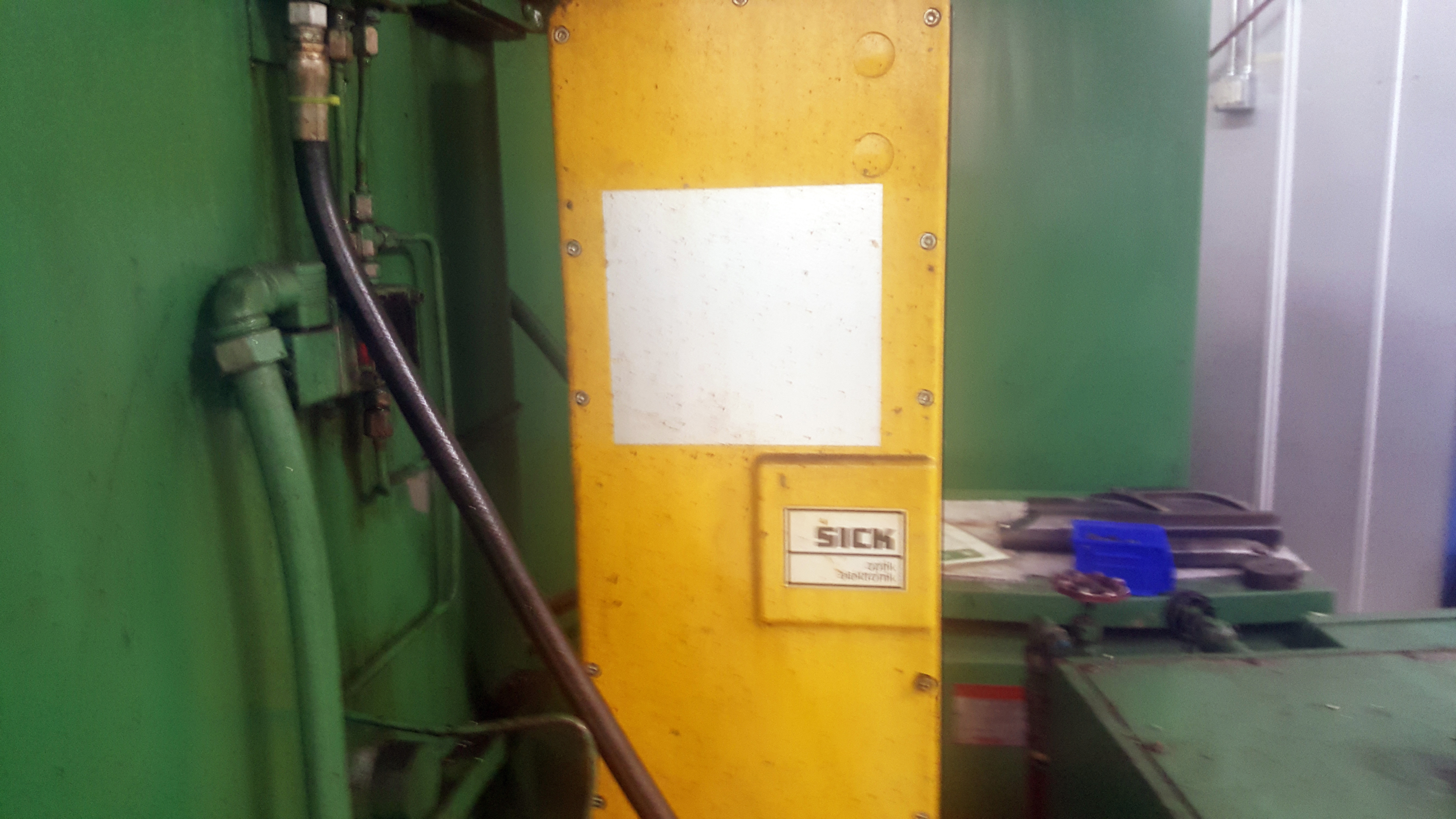 """Gray 42"""" table CNC Vertical Turing and boring lathe, Allen Bradley 8200 control, under power - Image 9 of 16"""