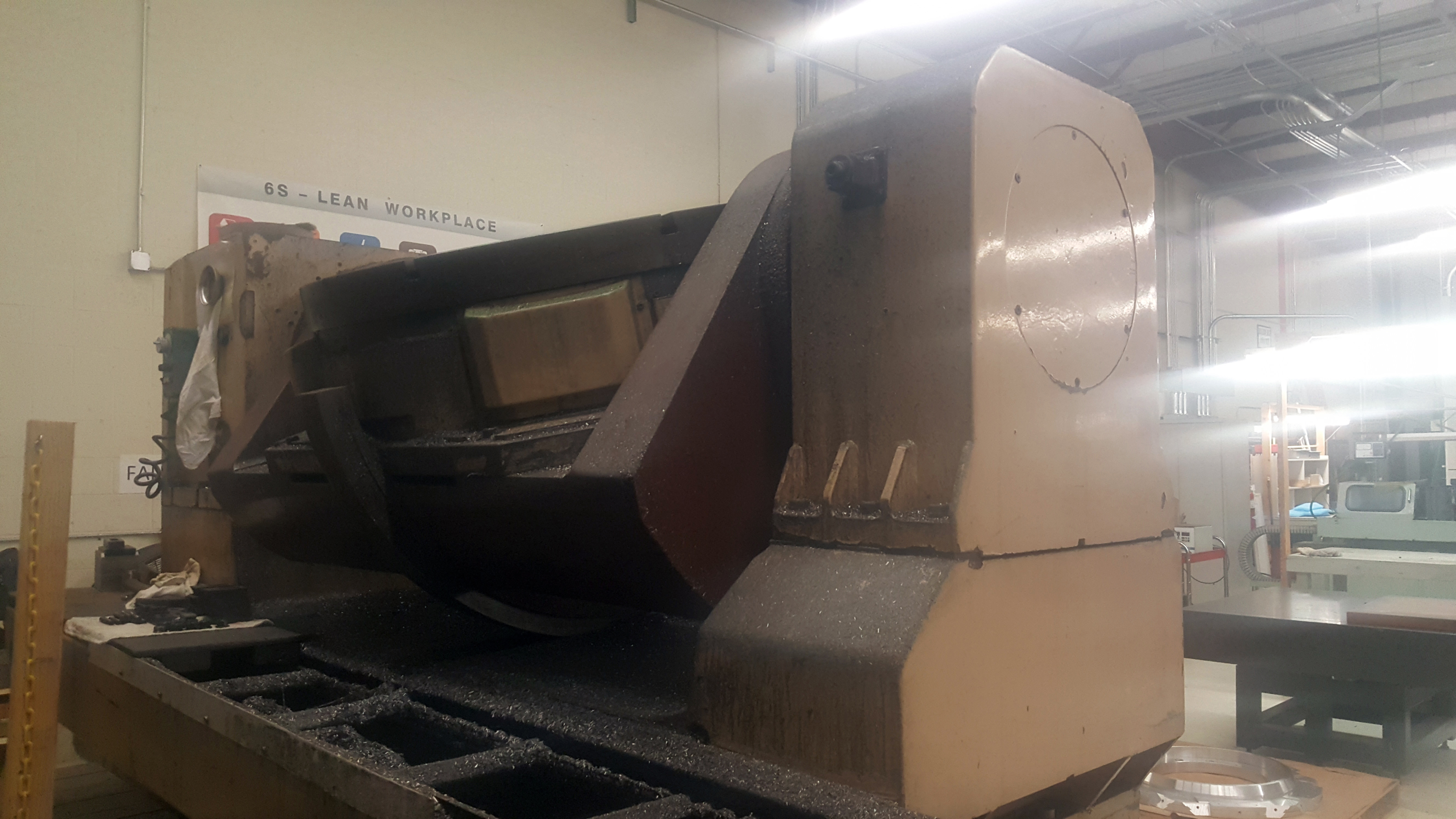 """Mandelli 5 Axis CNC Horizontal Machining Center With 43"""" Trunnion Rotary Table - Image 11 of 27"""
