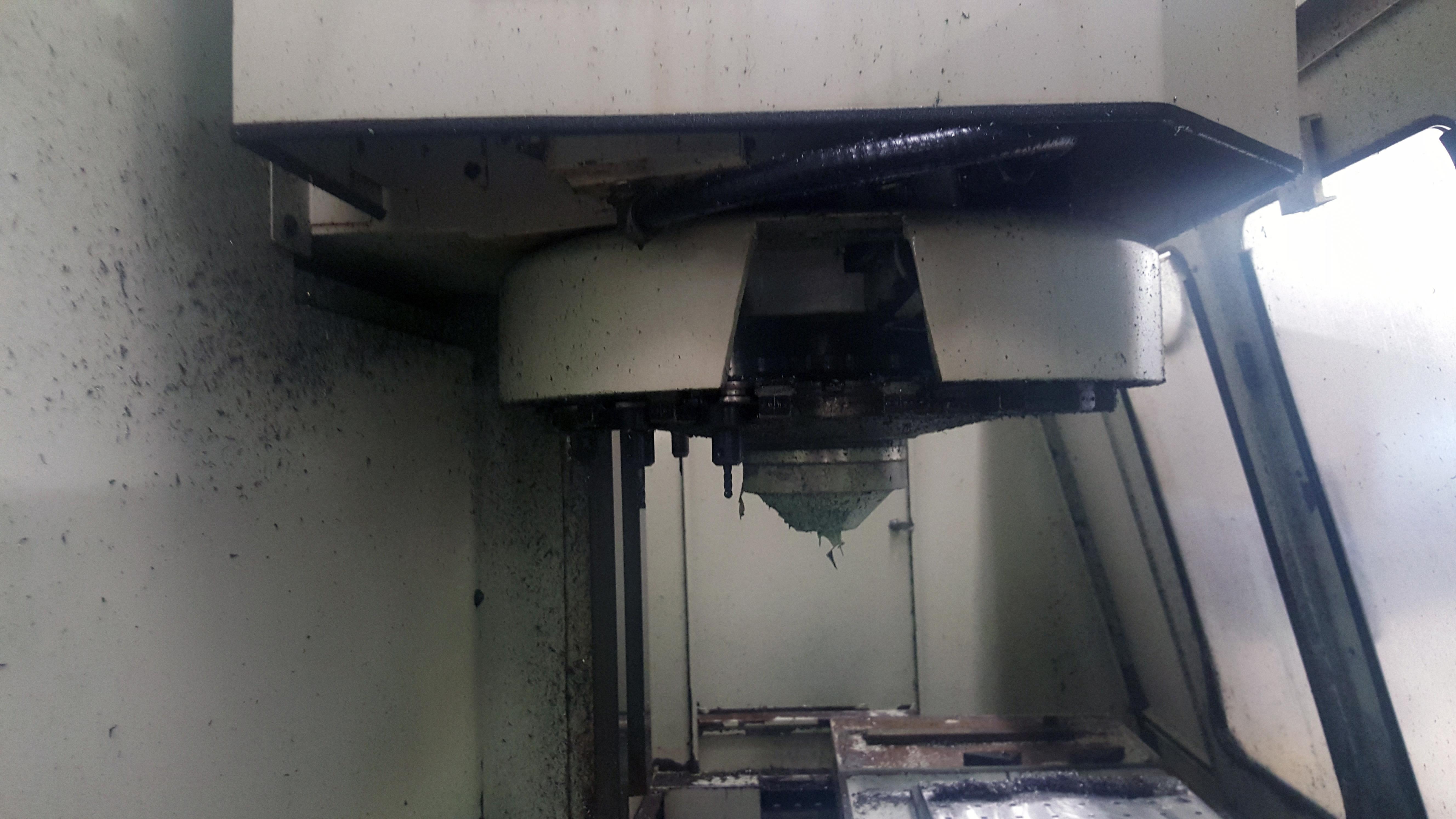 "Republic Lagun 4 Axis Model 3516 CNC Vertical Machining Center 16"" X 35"" table, 18 tools, 5000 - Image 3 of 6"