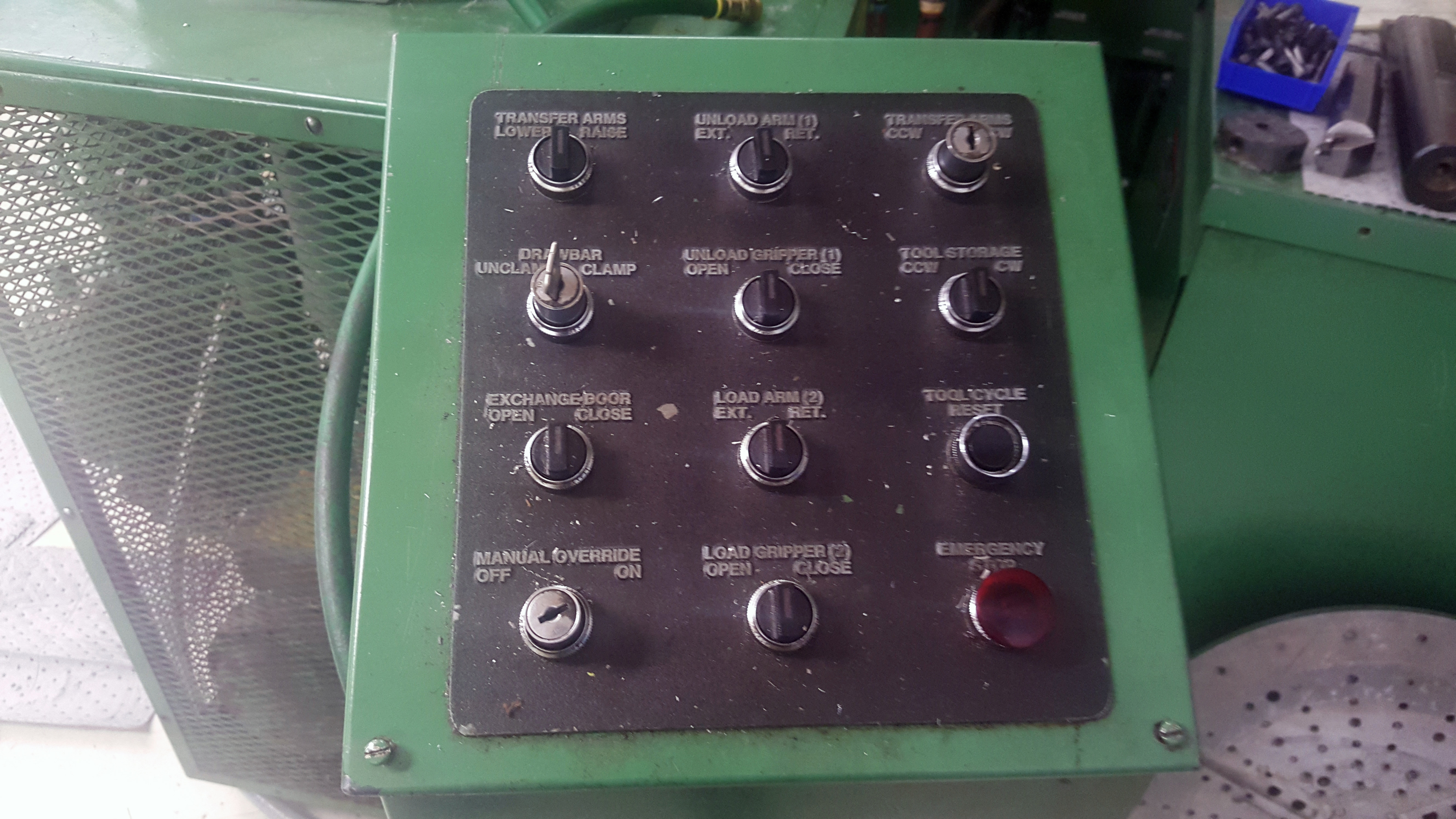 """Gray 42"""" table CNC Vertical Turing and boring lathe, Allen Bradley 8200 control, under power - Image 16 of 16"""