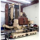 "Mandelli 5 Axis CNC Horizontal Machining Center With 43"" Trunnion Rotary Table"