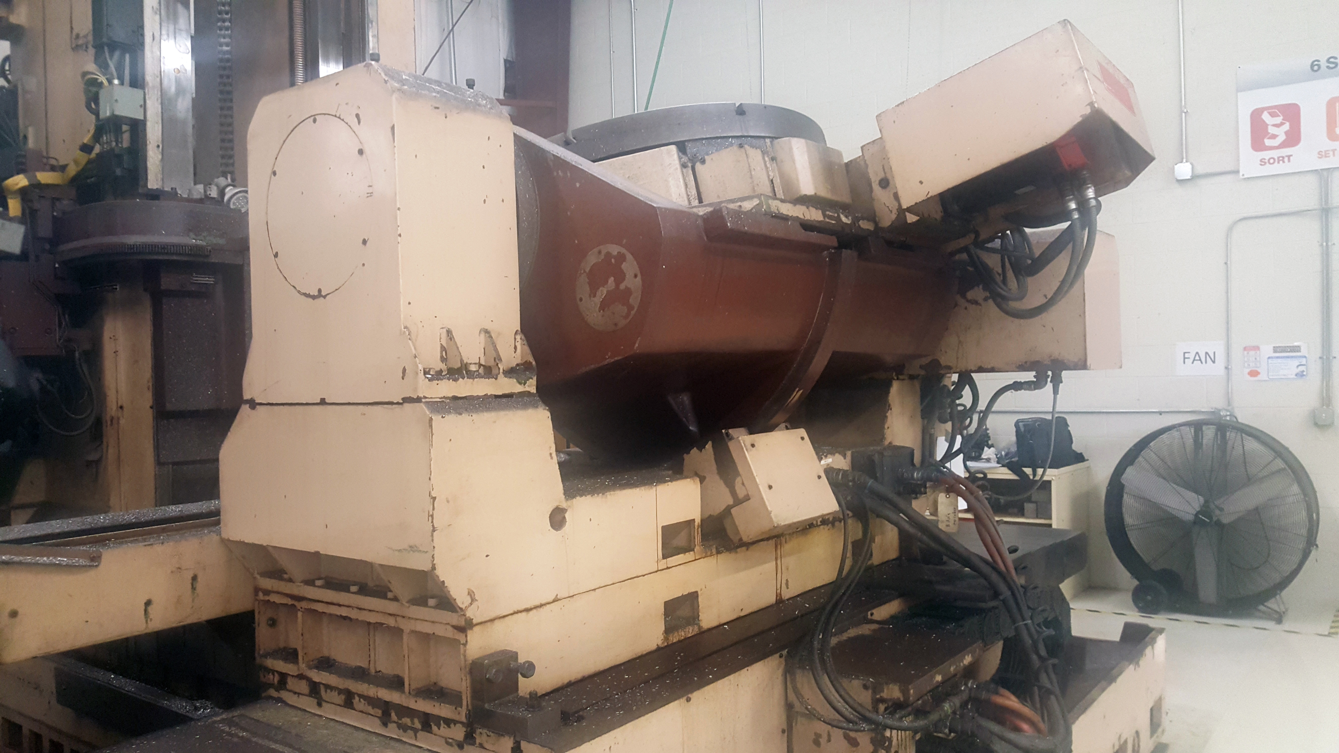 """Mandelli 5 Axis CNC Horizontal Machining Center With 43"""" Trunnion Rotary Table - Image 8 of 27"""